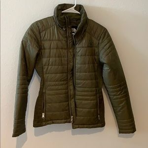 The North Face Jackets & Coats - Olive green north face jacket